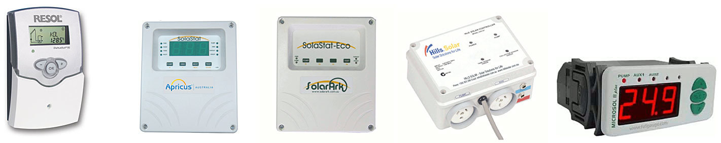 Most brands of solar hot water controllers