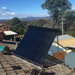 evacuated tube solar hot water system in Kambah Canberra