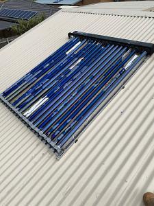 Hail damaged solargain-evacuated tubes Canberra